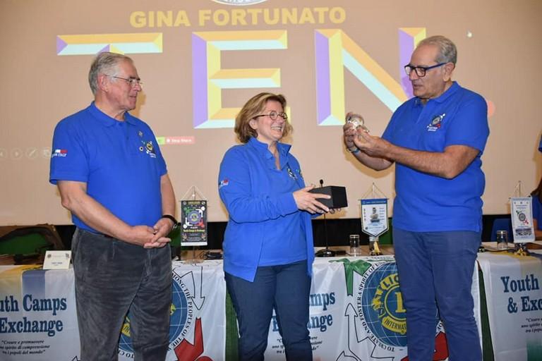 Il premio assegnato all'andriese Luigia Fortunato