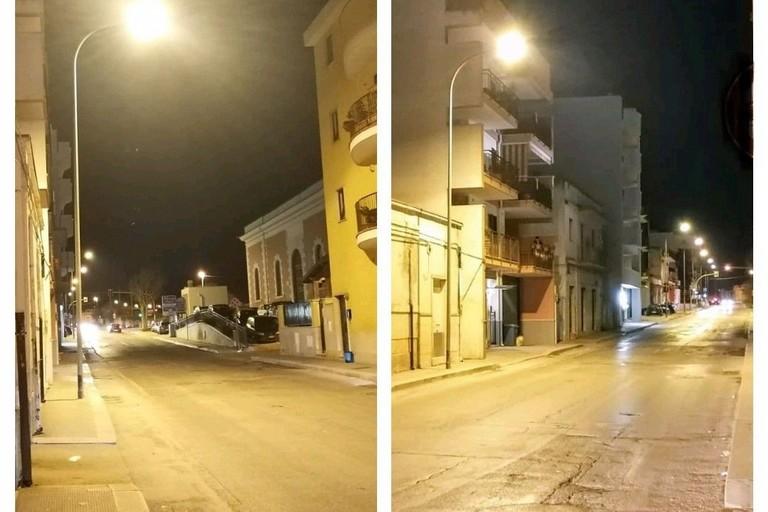 Ripristinata l'illuminazione pubblica in via Don Lotti