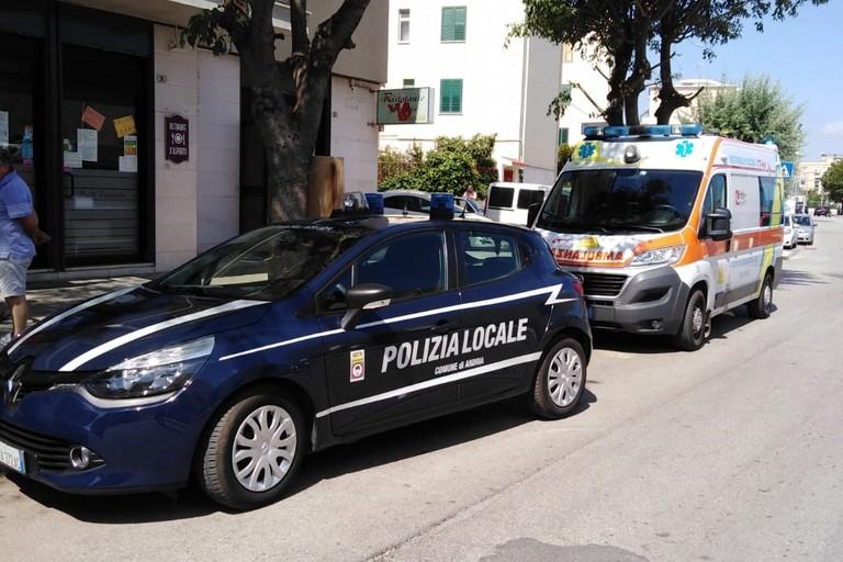 Due incidenti nel pomeriggio ad Andria: codice rosso per un minore a bordo di una bici
