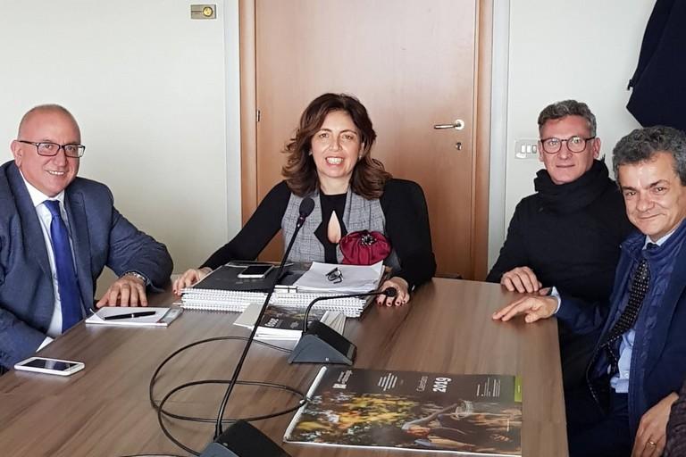 da dx Nicoletti, Troia, Giarratano e Romano