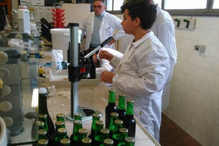 Birra prodotta dall'Istituto Agrario di Andria