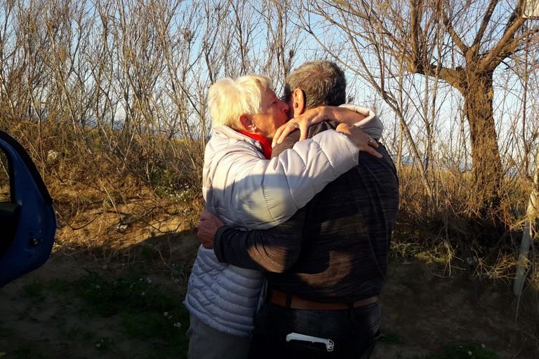 avventura a lieto fine per due turisti tedeschi