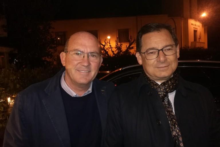 don Riccardo Agresti e Giannicola Sinisi