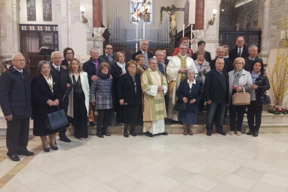 Quattro famiglie da Puglia e Lucania, riunite nel ricordo dei propri cari