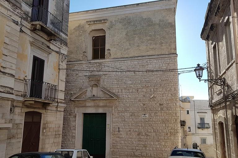 Chiesa Mater Gratie ANDRIA. <span>Foto Riccardo Di Pietro</span>