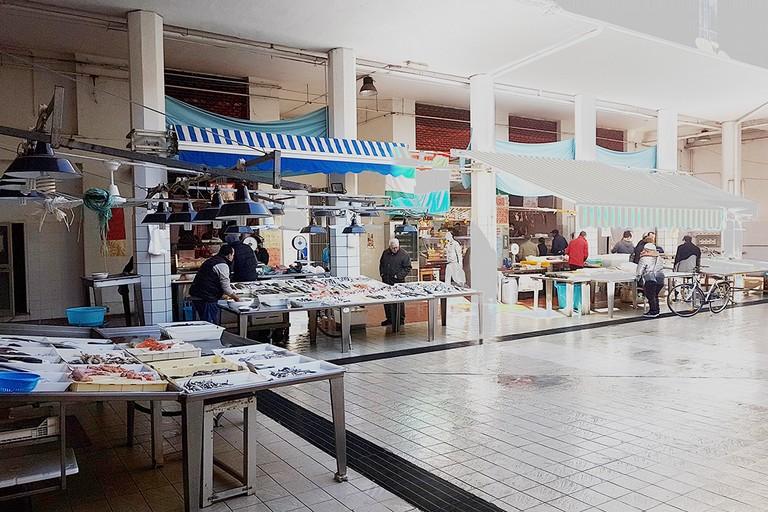 I mercati comunali del centro storico di Andria (Foto Riccardo Di Pietro)
