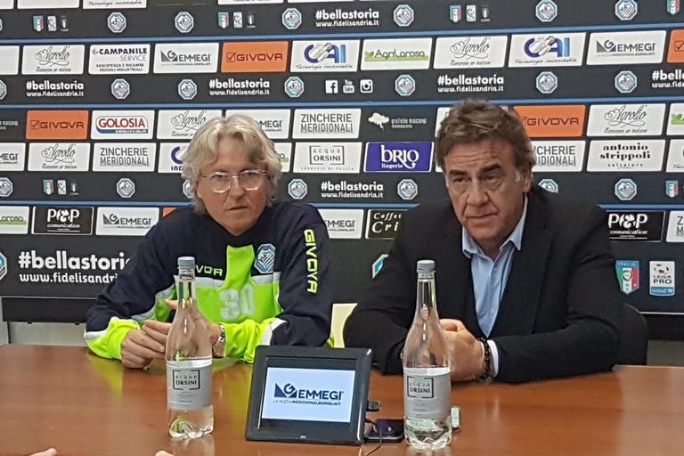 """Fidelis, il richiamo del patron Montemurro: """"Vogliamo compattezza attorno alla squadra e alla società"""""""