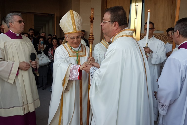 inaugurazione nuova chiesa madonna della grazia