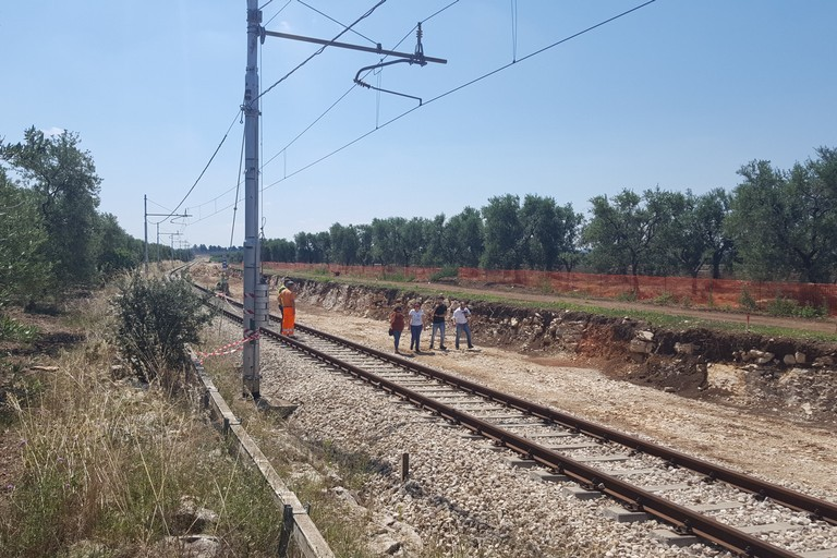 Tratto ferroviario dell'incidente