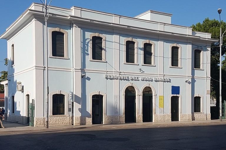 Ferrovia del Nord Barese. <span>Foto Riccardo Di Pietro</span>