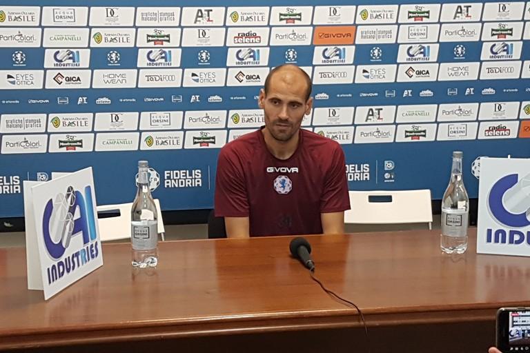 Alessandro Potenza, tecnico Fidelis Andria