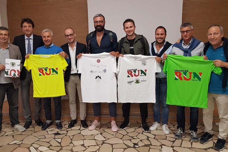 Presentazione della Tricolor Run