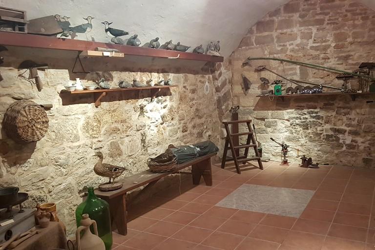 Il Museo d'Arte Venatoria in Piazza Pincerna