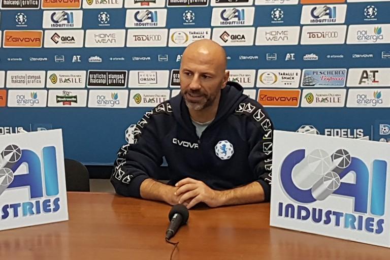 Raimondo Catalano, allenatore Fidelis Andria