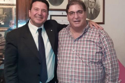 Antonio Pistillo con Francesco Mucci
