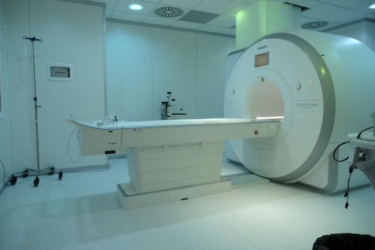 apparecchio ospedaliero per la tac
