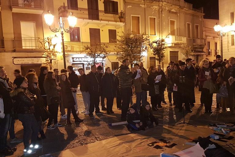 #cancellalasvastica in Piazza Duomo