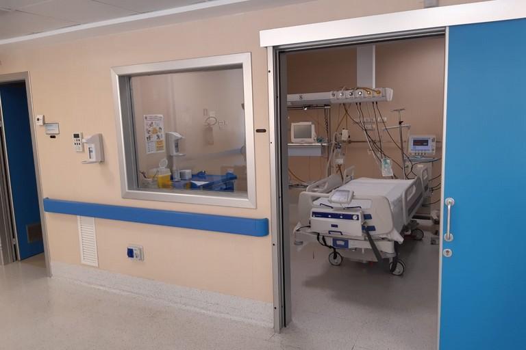 reparto per pazienti con coronavirus