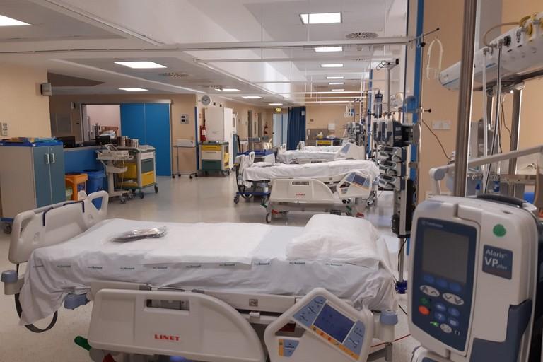 nuovi reparti di terapia intensiva