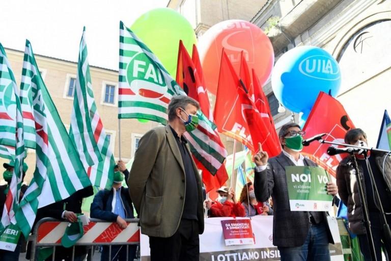 Manifestazione fp cgil