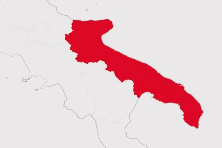 Puglia zona rossa