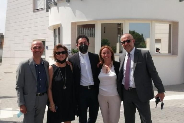 da sx Todisco, Quacquarelli, Di Nanni, Bruno e Bonato