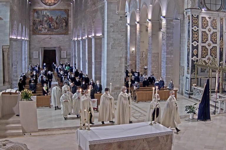 Santa Messa per la festa della Madonna di Palestina. <span>Foto Sacrestia della Cattedrale di Andria </span>