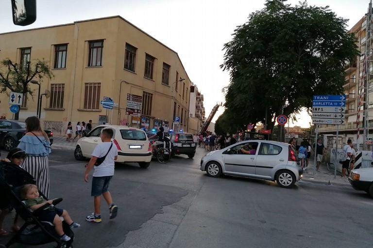 traffico in tilt in via Padre Niccolò Vaccina