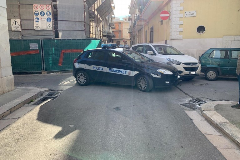 incidente auto Polizia locale