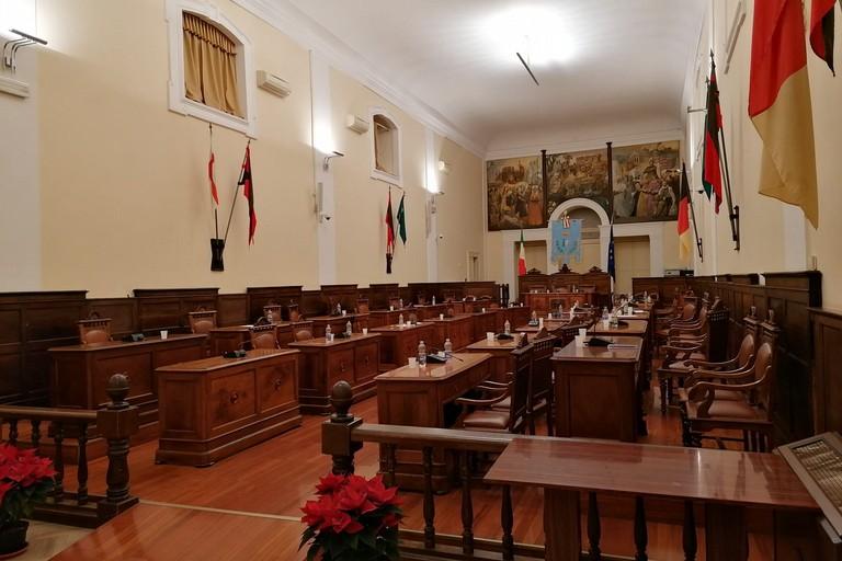 aula del consiglio comunale