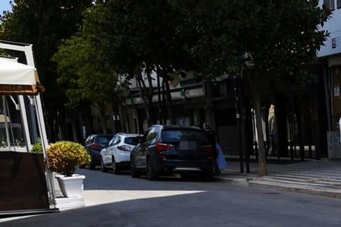 parcheggi su corso Cavour