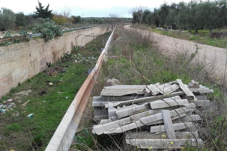 scempio ambientale per il canale Ciappetta Camaggio