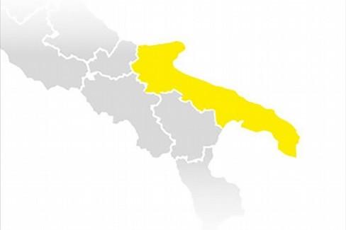 La Puglia resta gialla