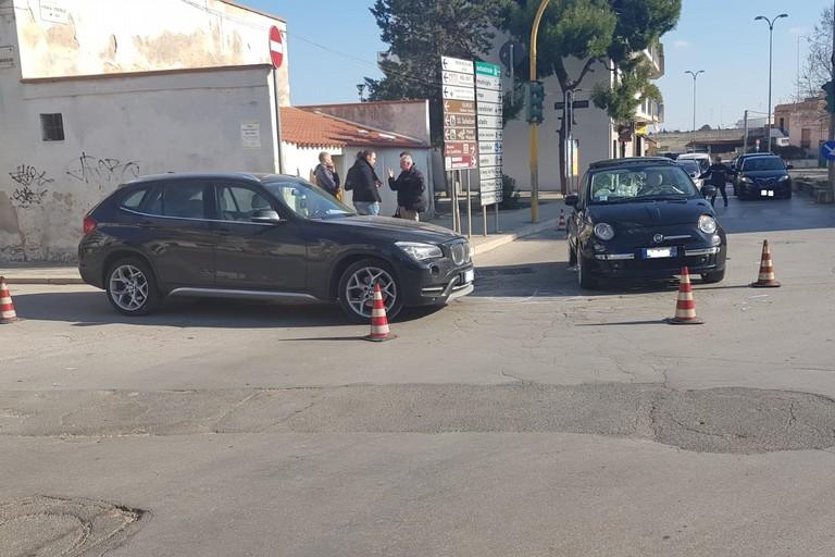incidente stradale tra viale Togliatti e Padre Savarese