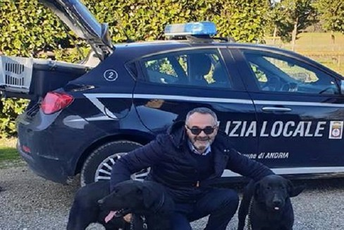La Polizia Locale si dota di due cani antidroga