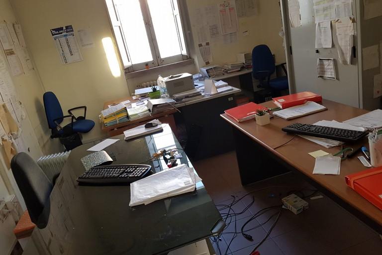 furto negli uffici della Asl/Bt di via Mons. Di Donna- via De Anellis
