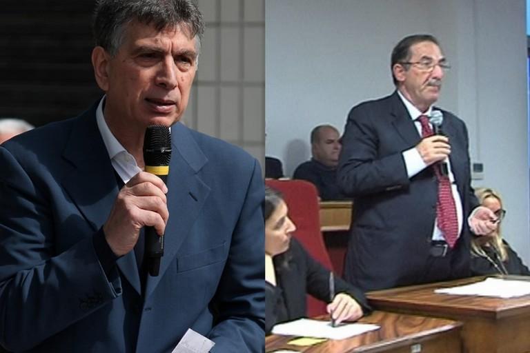 da sx Nino Cannito e Bernardo Lodispoto