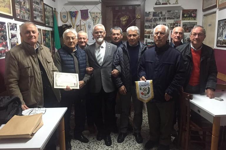 visita UNIMRI all'Associazione Bersaglieri di Andria