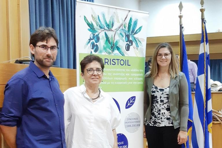 delegazione italiana, al centro la dott.ssa Maria Teresa Pellegrino