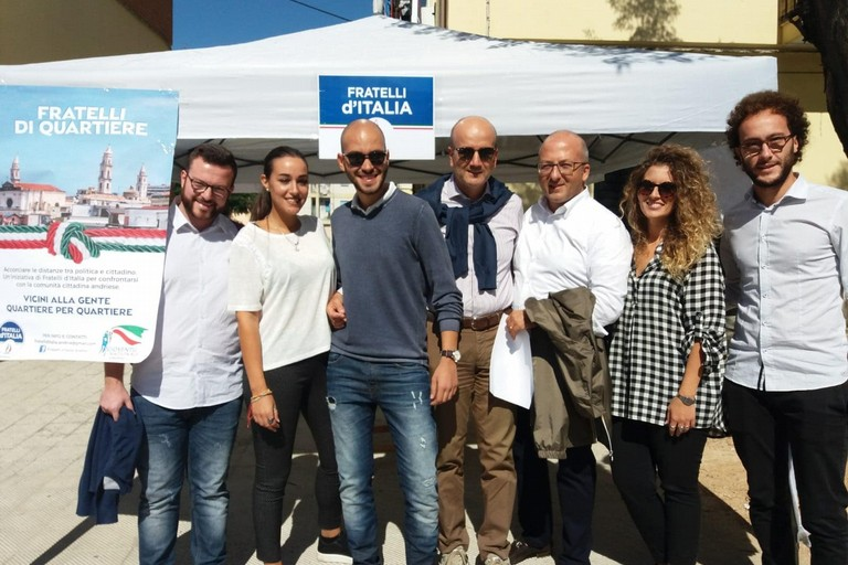 Fratelli di Quartiere: l'iniziativa di Fratelli d'Italia Andria ottiene già i primi risultati