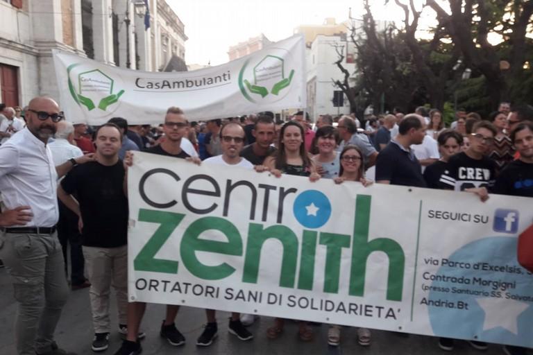 i ragazzi/e del Centro Zenith di Andria