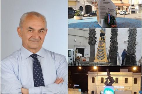 Il dottor Di Gioia e alcuni monumenti cittadini