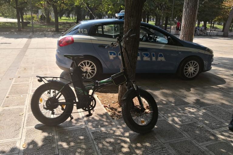 multe per  le biciclette elettriche