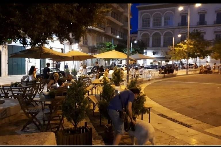 dehors in piazza Catuma