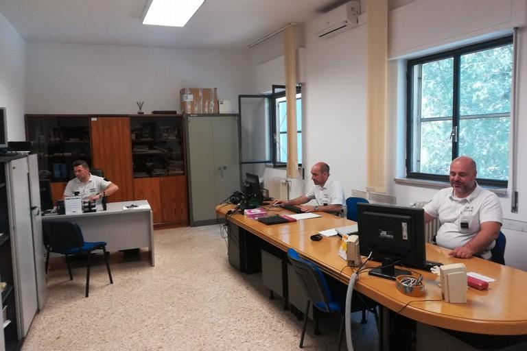 agenti della Squadra del Pronto Intervento della Polizia Locale di Andria