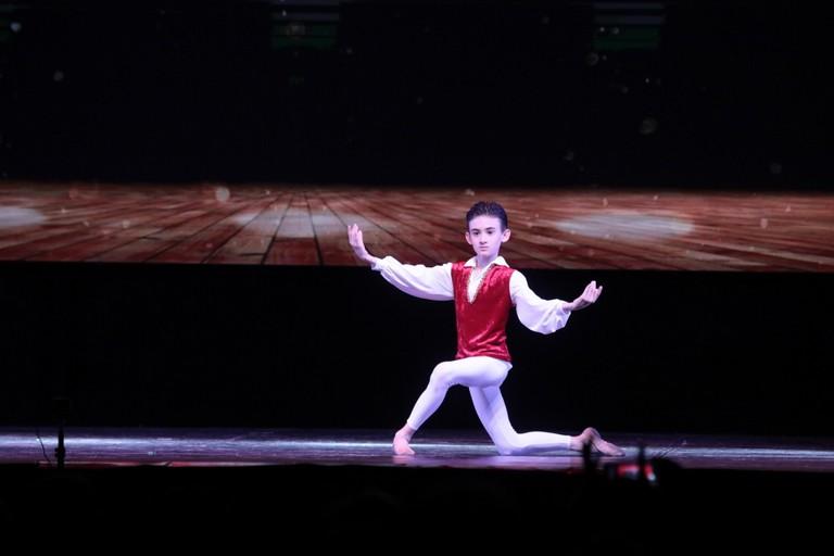 Flavio Nesta, giovanissimo ballerino andriese