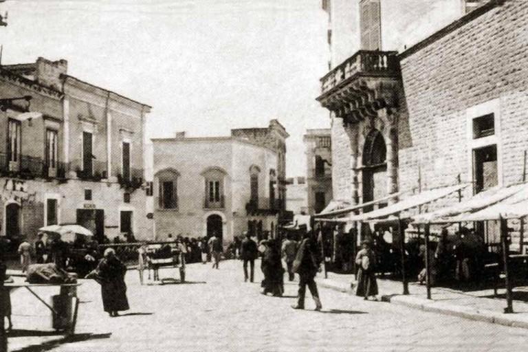 centro storico di Andria nell '800