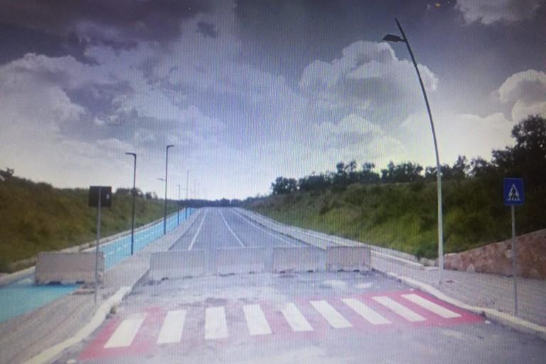 nuova strada di collegamento tra via Bisceglie e via Gentile