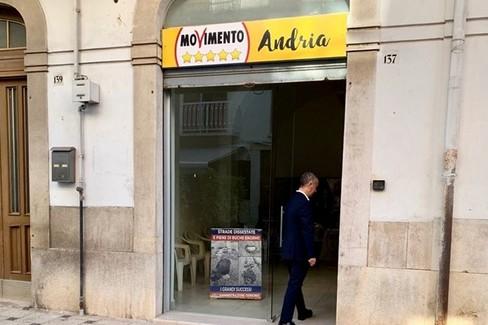 nuova sede del M5S Andria