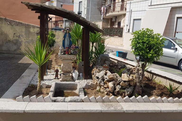 Cura degli spazi pubblici in viale Orazio ad Andria